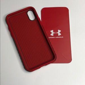 Under armour iPhone X case